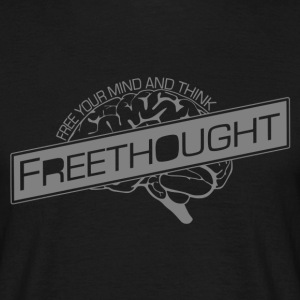 Freethought  - Men's T-Shirt