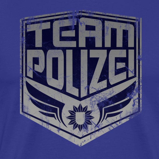 """team polizei"" Männershirt"