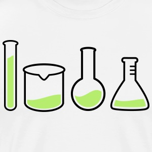 laboratory equipment  laboratorieutrustning  T-shirts - Premium-T-shirt herr