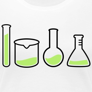 laboratory equipment  laboratorieudstyr  T-shirts - Dame premium T-shirt
