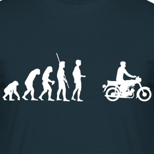 Evolution Simson Moped Tee shirts - T-shirt Homme