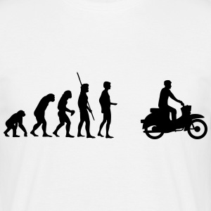 Evolution Simson Schwalbe T-shirts - Herre-T-shirt
