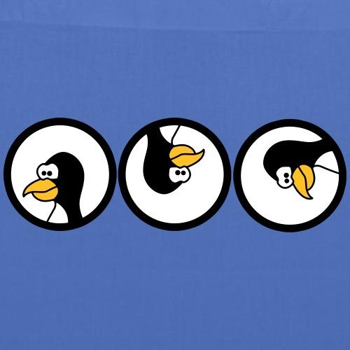 Pinguin dreht sich im Kreis Tiermotive T-Shirt