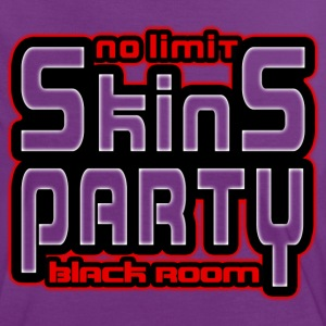 no limit skins party black room T-Shirts - Women's Ringer T-Shirt
