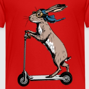 Scooter Hare T-Shirts - Kinder Premium T-Shirt