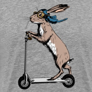 Scooter Hare T-Shirts - Men's Premium T-Shirt