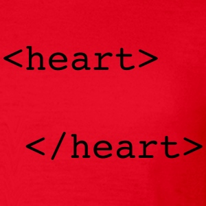 html heart :-: - Women's T-Shirt
