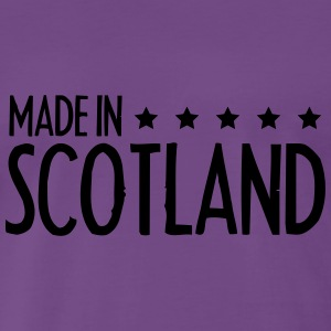 Made In Scotland Design T-Shirts - Men's Premium T-Shirt