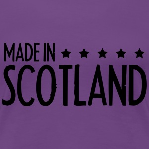 Made In Scotland Design T-Shirts - Women's Premium T-Shirt
