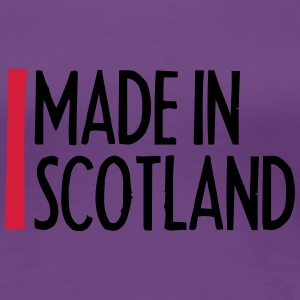 Made In Scotland T-shirts - Dame premium T-shirt