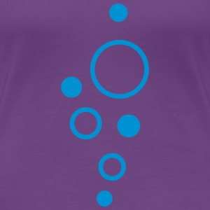 Bubbles T-Shirts - Frauen Premium T-Shirt