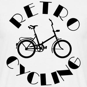 Retro Cycling Old School Camisetas - Camiseta hombre