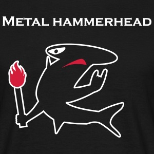 Metal hammerhead black collection T-shirts - Herre-T-shirt