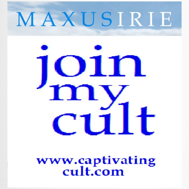 Maxus Irie - join my cult - travel mug