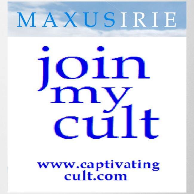 Maxus Irie - join my cult - mug