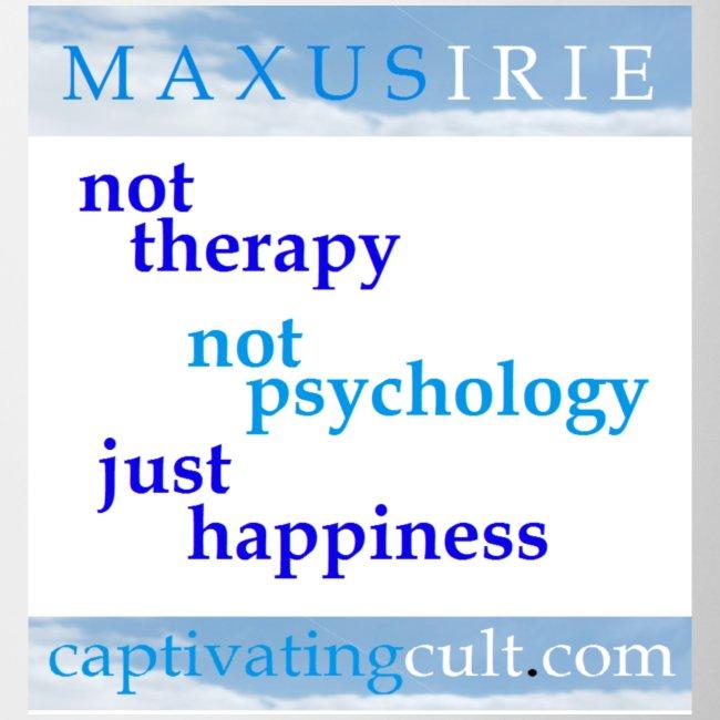 Maxus Irie - not therapy - mug