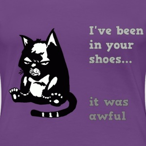 awful cat T-Shirts - Women's Premium T-Shirt