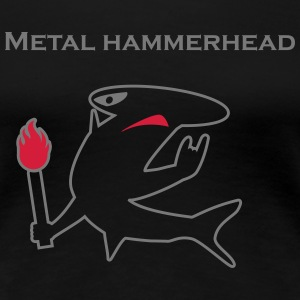 Metal hammerhead black collection Tee shirts - T-shirt Premium Femme