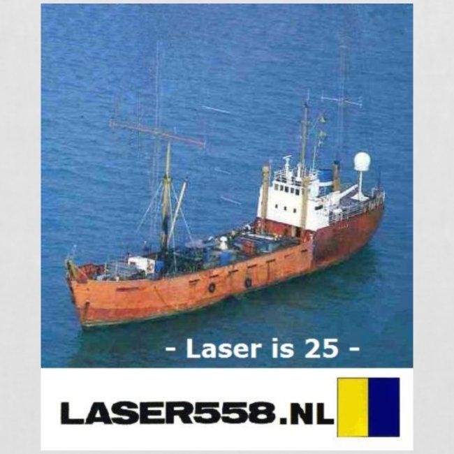 laser is 25 !