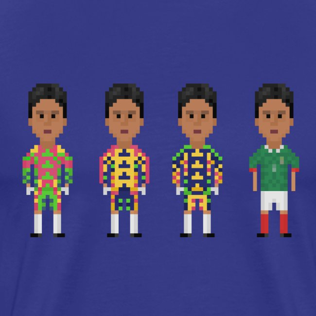 Men T-Shirt - The colorful goalkeeper