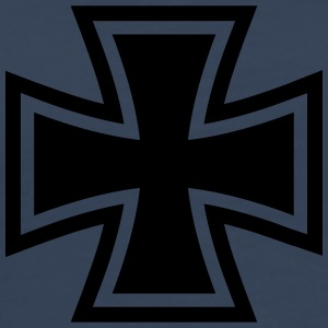 Iron Cross Logo T-shirts - Herre premium T-shirt