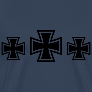 3 Iron Cross T-skjorter - Premium T-skjorte for menn