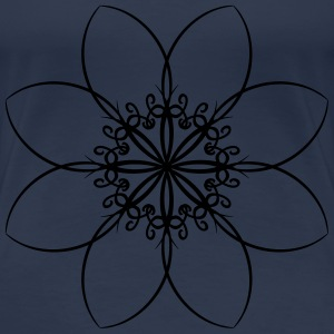 Flower Tattoo T-shirts - Premium-T-shirt dam