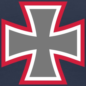 Iron Cross T-shirts - Dame premium T-shirt