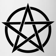 Design ~ Black Pentagram Mug