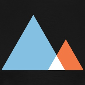 Abstract Mountains Symbol T-Shirts - Men's Premium T-Shirt
