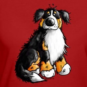Bernie - Berner Sennenhund Cartoon - T-Shirt - Frauen Bio-T-Shirt