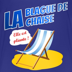 La blague de la chaise Skjorter - Premium T-skjorte for barn