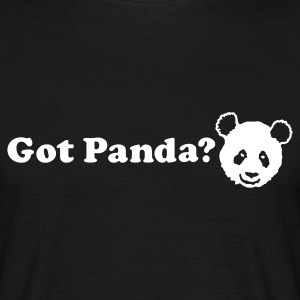 Black Got Panda? Men's Tees - Men's T-Shirt