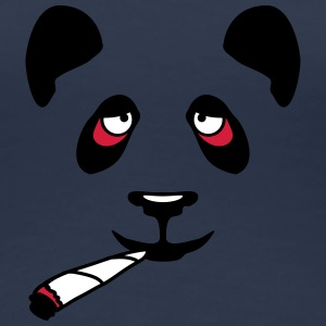 High Panda Face T-shirts - Vrouwen Premium T-shirt