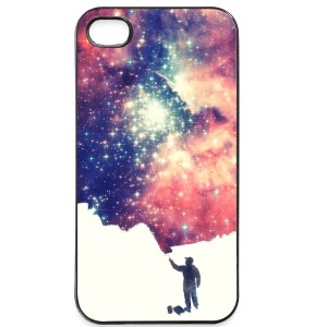 Painting the universe  Hoesjes voor mobiele telefoons & tablets - iPhone 4/4s hard case