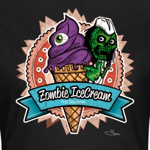 zombie ice cream T-Shirts - Frauen T-Shirt
