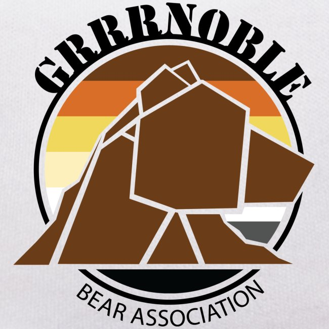 Mascotte GRRRNOBLE BEAR ASSOCIATION