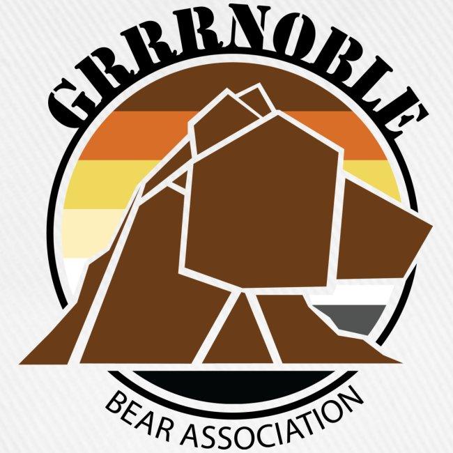 Casquette taille unique GRRRNOBLE BEAR ASSOCIATION