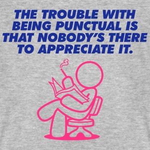The Trouble With Being Punctual (2c)++2013 T-Shirts - Men's Organic T-shirt