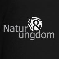 Motiv ~ teenage t-shirt, hvidt logo, ikke øko