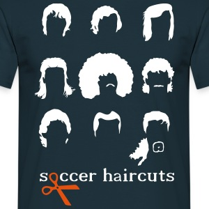 Soccer hairstyles  T-Shirts - Men's T-Shirt