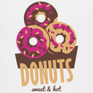 Donuts - Sweet and Hot T-shirts - Børne premium T-shirt