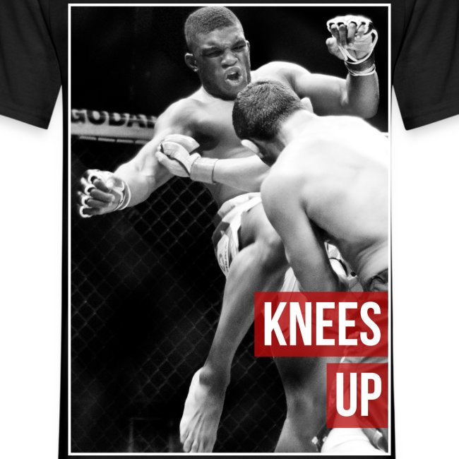 Mens MMA Fashion Hipster Tshirt - Paul Daley: 'Knees Up'