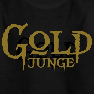 Goldjunge - Kinder T-Shirt