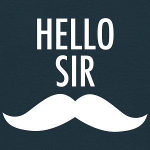 Hello Sir (Moustache) Tee shirts - T-shirt Homme