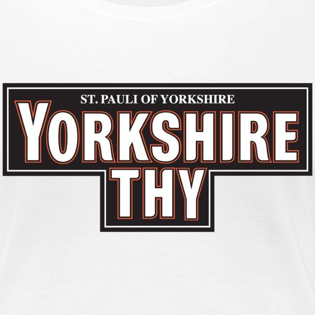 Women's Yorkshire Thy t-shirt