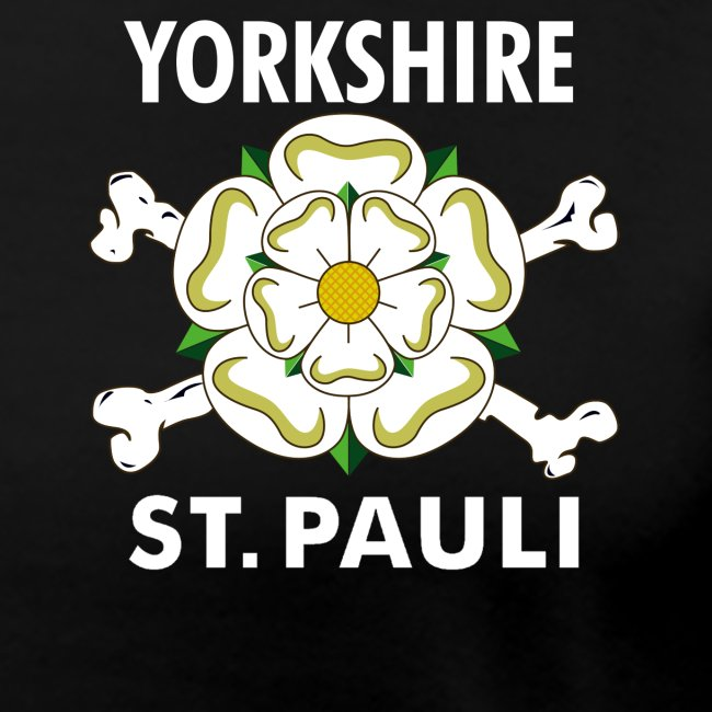 Women's Yorkshire St Pauli logo t-shirt