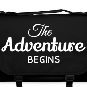 the adventure begins Bags & backpacks - Shoulder Bag