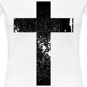 Kreuz / Cross  T-Shirts - Frauen Premium T-Shirt