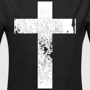 Kreuz / Cross  Pullover & Hoodies - Baby Bio-Langarm-Body
